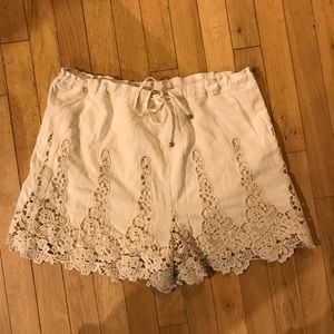Anthropologie - elevenses shorts